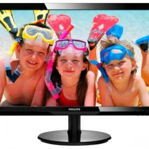 "Монитор Philips 24"" 246V5LAB​/​00 Black"